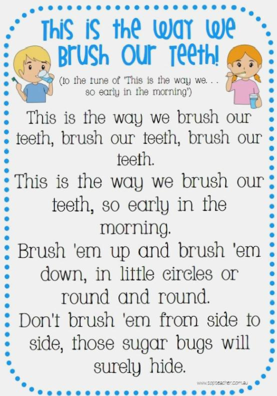 Brush Your Teeth-Song