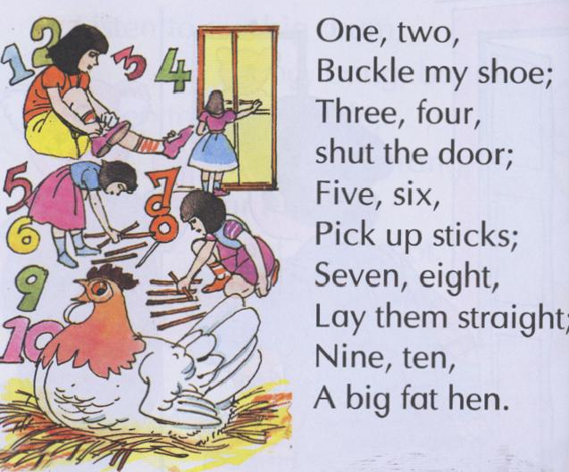 One Two Buckle My Shoe – Rhymes Online